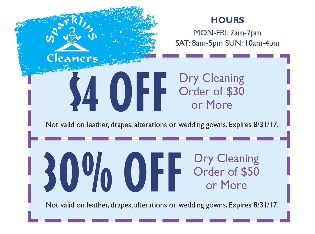 Sparkling Cleaners Offer 7_17